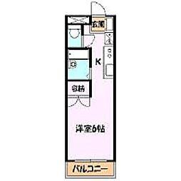 メゾン・ド・シオン[1階]の間取り