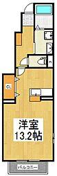 ソル レヴェンテ[1階]の間取り