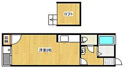 OCTHOUSE[2階]の間取り