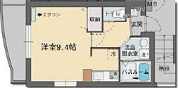静岡県三島市大宮町1丁目の賃貸マンションの間取り