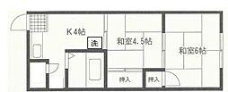 中山荘[208号室号室]の外観
