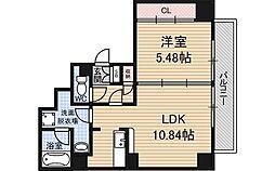 インザグレイス東三国[11階]の間取り