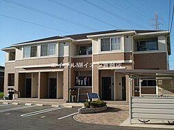 岡山県倉敷市玉島乙島丁目なしの賃貸アパートの外観