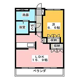 プリマベーラB・H II[2階]の間取り