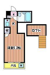 サンメゾン[2階]の間取り