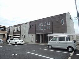 福岡県中間市中鶴4丁目の賃貸アパートの外観