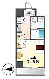 プログレンス栄[6階]の間取り