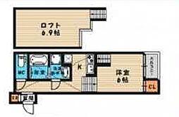 (仮称)旭区今市一丁目・SKHコーポA棟[202号室号室]の間取り