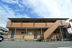 兵庫県姫路市別所町佐土新の賃貸アパートの外観