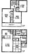 駐車2台可能・全居室収納付