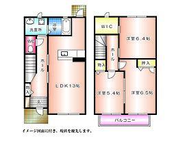 [テラスハウス] 広島県広島市西区己斐上2丁目 の賃貸【/】の間取り