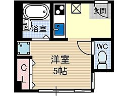 アーバンプラザ[3階]の間取り