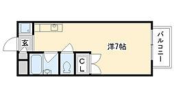 ヴィラロンシャン[2階]の間取り