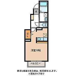 タッセル[1階]の間取り