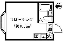 ライフピアキャロル[1階]の間取り