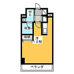 アーバンポイント高崎[5階]の間取り
