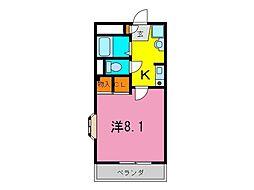 東浦町 マーサ21[0205号室]の間取り