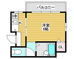 アーバンコスモ[3階]の間取り