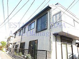 東京都目黒区鷹番1丁目の賃貸アパートの外観