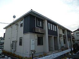 東京都武蔵村山市大南5丁目の賃貸アパートの外観