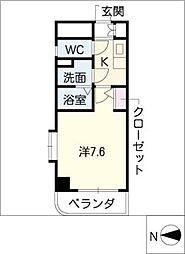 現代ハウス黄金[4階]の間取り