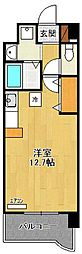 メルベーユ立花[4階]の間取り