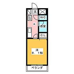 UMEX−7[4階]の間取り