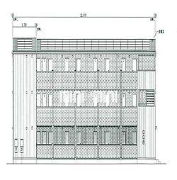 (仮称)D-room小木田町[3階]の外観
