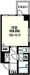 ソフィアヨコハマ[404号室号室]の間取り