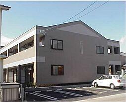愛知県北名古屋市鹿田西赤土の賃貸アパートの外観