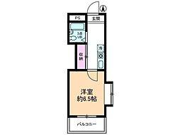 グローイングシティー大和田[3階]の間取り