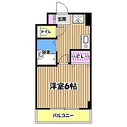 コンフォート309[1階]の間取り