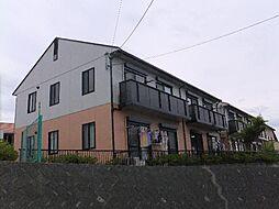 静岡県静岡市清水区由比阿僧の賃貸アパートの外観