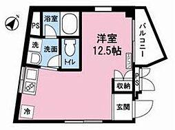 リバーサイドハウス[7階]の間取り