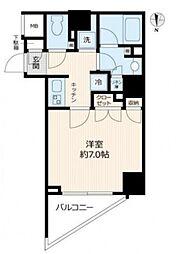 Log赤塚[6階]の間取り