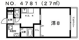 セレーナあびこ[2階]の間取り