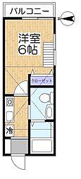 サザンコートLT[2階]の間取り