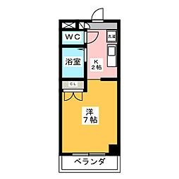 CASAナカシマ[2階]の間取り