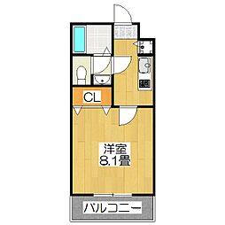 仮称 上京区北玄蕃町共同住宅[302号室]の間取り