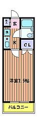 あずまマンション[3階]の間取り