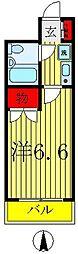 ジョイフル五香[2階]の間取り
