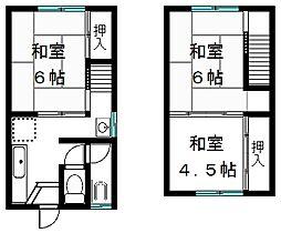 [タウンハウス] 滋賀県大津市和邇高城 の賃貸【/】の間取り