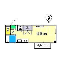 エトワール鴨部II[2階]の間取り