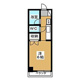 庵里KAMANZA[2階]の間取り