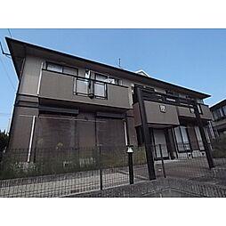 京都府相楽郡精華町桜が丘1丁目の賃貸アパートの外観