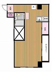 セブンロード大野 新代田2分下北沢8分 2線3駅利用可 駅[1階]の間取り