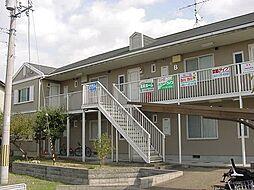 京都府宇治市宇治池森の賃貸アパートの外観