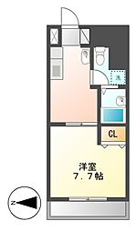 T's Dream名駅[9階]の間取り