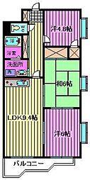 エルシ—弐番館[305号室]の間取り