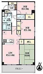 マイキャッスル武蔵小金井3階